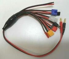 Multi RC Lipo Battery Charger Plug Charging Cable Lead  JST DEANS TAMIYA B6,