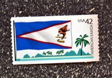 2008USA #4276 42c American Samoa Flag - Flags of Our Nation  Mint NH  palm tree