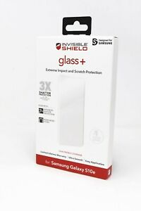 Zagg Invisible Shield Glass+ Screen Protector for Samsung Galaxy S10e - CLEAR