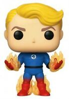 Human Torch with Flames Fantastic Four 4 Funko Pop Vinyl New in Box