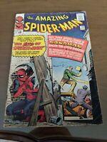 Amazing Spider-Man #18 1st Ned Leeds! Silver Age Marvel Comics 1964!