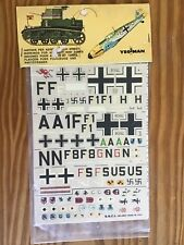Yeoman #38 GERMANY DORNIER DO. 17 Decals 1:72 Aircraft