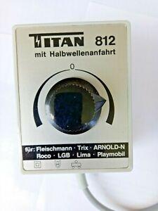 Titan Typ 812 mit Halbwellenanfahrt 16,8 VA Fleischmann Trix LGB Roco Playmobil