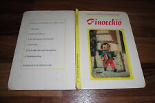 Tadasu Izawa + Siligemi Hijikata -- PINOCCHIO mit 3D-Cover // Bilderbuch v. 1970