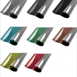 Reflective Solar Tint Mirrored Window Film One Way Privacy Sticker Tint Vinyl