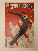 Spider-Geddon #1 Nakayama Variant Ps4 Gameverse NM 1st Print Marvel Spider-man