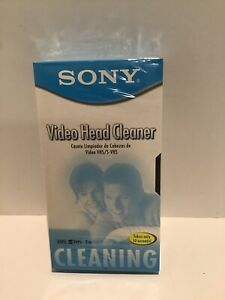 SONY Video Head Cleaner - VHS / S-VHS