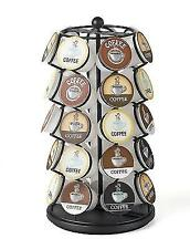 Coffee Cup Holder K-cup Carousel - Holds 35 K-cups in Black Kitchen Design