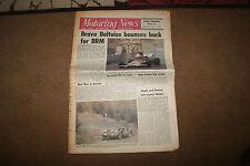 Motoring News 18 May 1972 Welsh Rally Indy Trials Monaco GP Laguna Seca F5000