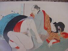shunga japanese sex print # 9