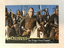 CHEAP PROMO CARD: LORD OF THE RINGS RETURN KING Topps #P3 ONE SHIP FEE PER ORDER