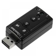 Dongle Stick 7.1 Channel Audio Adapter Sound Card External for PC Laptop