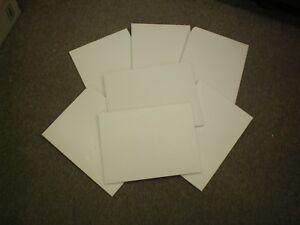 """6 Pieces 1/2""""  Glacier White Corian"""