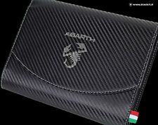 PORTA LIBRETTO ABARTH CARBON LOOK