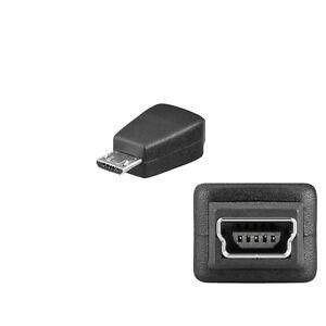 USB 2.0 Mini Buchse 5pin auf Micro USB-B Stecker Adapter