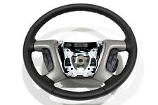 OEM NEW Steering Wheel w/ Controls Black Leather 09-14 Silverado Sierra 22947784