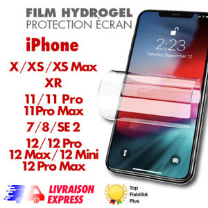 ✅ screen protector film hydrogel for apple iphone 11,12,12pro max, se 2 2020,7,8