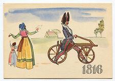LA STORIA DELLA BICICLETTA, 1^ SERIE I PIONIERI, VON DRAIS 1816, BY PIRELLI    m