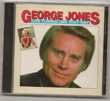 "GEORGE JONES, CD 10 SONGS  ""LIFE TURNED HER THAT WAY"" NEW SEALED"