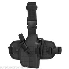 Condor - Universal Leg Holster - Black - Fully Adjustable to pistol - ULH