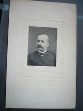 GRAVURE 1880 ALEXANDRE LACASSAGNE
