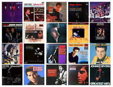 JOHNNY RIVERS RECORD ALBUMS   PHOTO-FRIDG MAGNETS