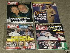 4 Pc. Celine Dion Derniere Heure Magazine