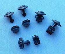 (2317) + (2315) 5x set protección del motor bajo protección de conducción clips fijación KLIPS NEGR