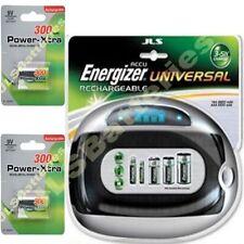 Energizer Cargador Universal 2 Recargable 9v 300mah Baterías