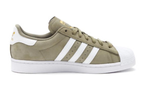 [H00163] Adidas SUPERSTAR Men's Sneaker Shoes Brown/White *NEW*