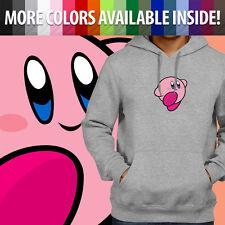 Kirby Nintendo Video Game Anime Smash Bros Pullover Sweatshirt Hoodie Sweater