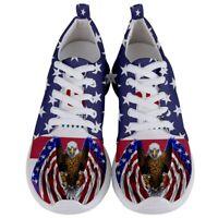 MAKE AMERICA GREAT AGAIN Donald Trump Men's Lightweight Sports Running Shoes