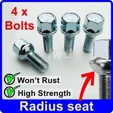 4 x BOLTS FOR EARLY VW WITH ORIGINAL ALLOY WHEELS (M12x1.5) NUT STUD LUGS [Y10]