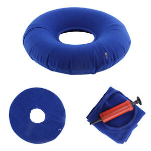 UK Inflatable Rubber Cushion Ring Round Seat Medical Hemorrhoid Pillows Donut