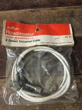 New Old Stock AMF Roadmaster 3 Speed Stick Shift Twist Grip Cable Shimano White