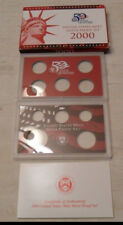 2000 *SILVER* Proof Set Box and Lenses ONLY