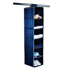 New Shelf Pocket Hanging Storage Organiser Shoe Clothes Wardrobe Hanger UK