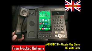 Android 7 Mobile Landline Telephone Smart Videophone LTE Up to 64GB Bluetooth