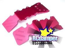 ALUMINUM FRONT & REAR LOWER SKID PLATE R TRAXXAS T-MAXX 15 2.5 3.3 NEW E-MAXX