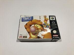Tiggers Honey Hunt Nintendo 64 Boxed Game N64