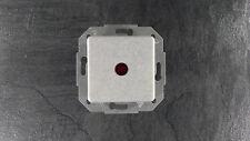 Kopp Europa Kontrollschalter rote Linse Unterputz granit grau Schalter UP
