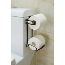 Over The Tank Toilet Bath Tissue Holder and Reserve Roll, Oil Rubbed Bronze