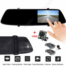 """XGODY 5"""" In Car Camera Recorder Dual Front and Rear 1080P Dash Cam Night Vision"""