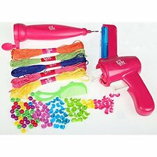 GIRLS HAIR BEADER KIT BRAIDING BRAIDER GIRLS FASHION ACCESSORIES BEADING R030085