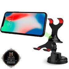 Rotating Car Mount Dash Windshield Window Phone Holder for iPhone 8 X Galaxy S9+