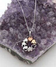 Gold Excellent Cut Fine Diamond Necklaces & Pendants