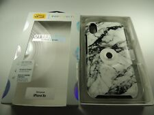 OtterBox Otter + Pop Symmetry Series Case iPhone XR - White Marble - Incomplete