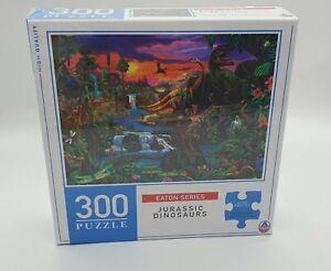 Eaton Series - Jurassic Dinosaurs - 300 piece Jigsaw Puzzle