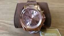 Nuevo Oro Rosa Parea mujeres Michael Kors Reloj MK5503