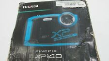 Fujifilm - FinePix XP140 16.4-Megapixel Waterproof Digital Camera - Sky Blue